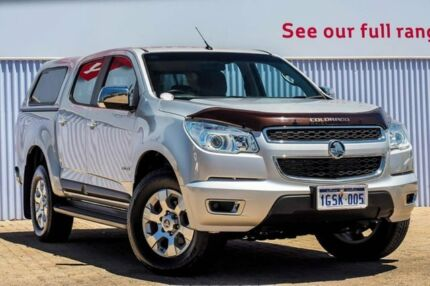 2014 Holden Colorado RG MY14 LTZ Crew Cab Silver 6 Speed Manual Utility Morley Bayswater Area Preview