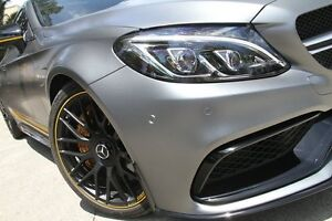 2016 Mercedes-AMG C63 205 MY16 63 S Edition 1 Grey 7 Speed Automatic Coupe Petersham Marrickville Area Preview