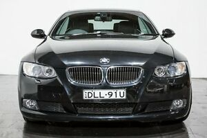 2008 BMW 325I E93 MY08 Steptronic Black 6 Speed Sports Automatic Convertible Rozelle Leichhardt Area Preview
