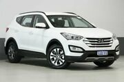 2014 Hyundai Santa Fe DM Active CRDi (4x4) White 6 Speed Automatic Wagon Bentley Canning Area Preview