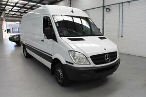 2012 Mercedes-Benz Sprinter NCV3 MY12 519CDI High Roof LWB 7G-Tronic White Sports Automatic Van Moorabbin Kingston Area Preview