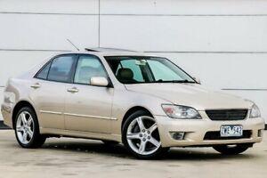 2005 Lexus IS GXE10R MY04.5 IS200 Sports Luxury Gold 4 Speed Automatic Sedan Pakenham Cardinia Area Preview