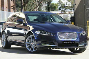 2015 Jaguar XF MY15 2.2D Premium Luxury Sapphire 8 Speed Automatic Sedan Petersham Marrickville Area Preview