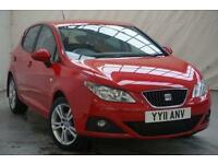 2011 SEAT Ibiza 1.4 CHILL 5d 85 BHP Petrol red Manual