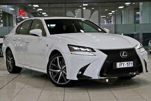 2016 Lexus GS200T ARL10R F Sport White Nova 8 Speed Sports Automatic Sedan Waterloo Inner Sydney Preview