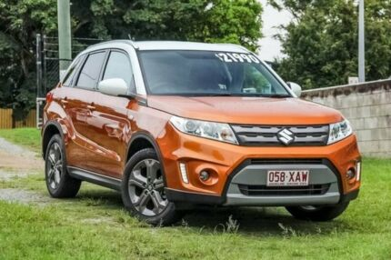 2016 Suzuki Vitara LY GL+ 2WD Orange & White 6 Speed Sports Automatic Wagon