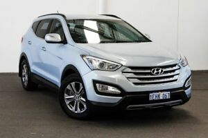 2013 Hyundai Santa Fe DM Active CRDi (4x4) Blue 6 Speed Automatic Wagon