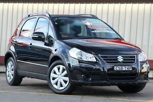 2013 Suzuki SX4 GY Crossover Black Continuous Variable Hatchback Homebush Strathfield Area Preview