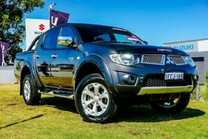 2011 Mitsubishi Triton MN MY11 GLX-R Double Cab Grey 5 Speed Sports Automatic Utility