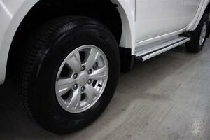 2012 Mitsubishi Triton MN MY12 GL-R Double Cab White 4 Speed Automatic Utility Maryville Newcastle Area Preview