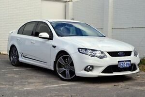 2010 Ford Falcon FG XR6 Turbo 50th Anniversary White 6 Speed Sports Automatic Sedan Midland Swan Area Preview