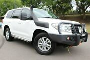 2015 Toyota Landcruiser VDJ200R MY13 GXL White 6 Speed Sports Automatic Wagon East Maitland Maitland Area Preview