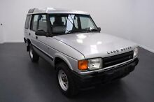 1998 Land Rover Discovery S (4x4) Silver 4 Speed Automatic 4x4 Wagon Moorabbin Kingston Area Preview