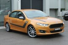 2015 Ford Falcon FG X XR6 Turbo Gold 6 Speed Sports Automatic Sedan Wolli Creek Rockdale Area Preview