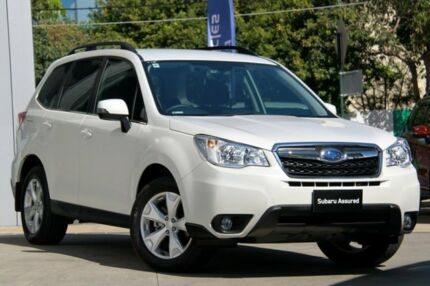 2014 Subaru Forester MY14 2.5I-L Satin White Pearl Continuous Variable Wagon Rosebery Inner Sydney Preview