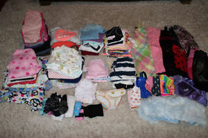 Large lot of girls size 8 clothes