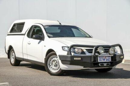 2013 Ford Falcon FG MkII EcoLPi Ute Super Cab White 6 Speed Sports Automatic Utility Maddington Gosnells Area Preview