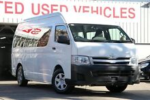 2013 Toyota Hiace KDH223R MY12 Upgrade Commuter White 4 Speed Automatic Bus Mosman Mosman Area Preview