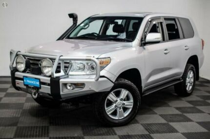 2014 Toyota Landcruiser VDJ200R MY13 VX Silver 6 Speed Sports Automatic Wagon