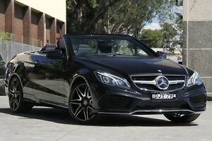 2014 Mercedes-Benz E400 207 MY14 Black 7 Speed Automatic Cabriolet Petersham Marrickville Area Preview