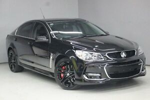 2016 Holden Commodore VF II MY16 SS V Redline Black 6 Speed Sports Automatic Sedan Greensborough Banyule Area Preview