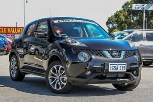2018 Nissan Juke F15 Series 2 Ti-S X-tronic AWD Pearl Black 1 Speed Constant Variable Hatchback
