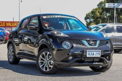 2018 Nissan Juke F15 Series 2 Ti-S X-tronic AWD Pearl Black 1 Speed Constant Variable Hatchback Cannington Canning Area Preview