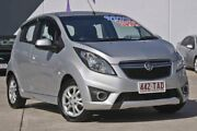 2012 Holden Barina Spark MJ MY13 CD Silver 5 Speed Manual Hatchback Rothwell Redcliffe Area Preview