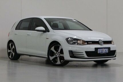 2014 Volkswagen Golf AU MY14 GTi White 6 Speed Manual Hatchback Bentley Canning Area Preview