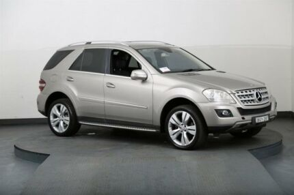 2008 Mercedes-Benz ML W164 07 Upgrade 320 CDI (4x4) Gold 7 Speed Automatic G-Tronic Wagon