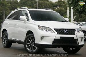 2012 Lexus RX450H GYL15R MY12 Luxury Blue 6 Speed Constant Variable Wagon Nedlands Nedlands Area Preview