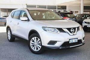 2014 Nissan X-Trail T32 ST X-tronic 4WD Silver 7 Speed Constant Variable Wagon Osborne Park Stirling Area Preview