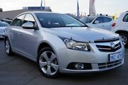 2010 Holden Cruze JG CDX Silver 6 Speed Sports Automatic Sedan Pearce Woden Valley Preview