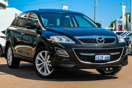 2012 Mazda CX-9 TB10A4 MY12 Luxury Black 6 Speed Sports Automatic Wagon Cannington Canning Area Preview