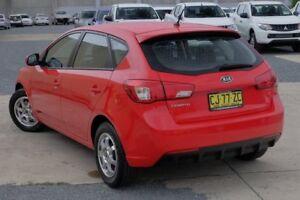 2013 Kia Cerato TD MY13 S Red 6 Speed Manual Hatchback