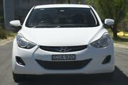 2011 Hyundai Elantra MD Active White 6 Speed Automatic Sedan Granville Parramatta Area Preview