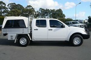 2011 Nissan Navara D40 MY11 RX White 6 Speed Manual Cab Chassis Acacia Ridge Brisbane South West Preview