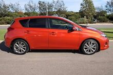 2013 Toyota Corolla ZRE182R Levin S-CVT ZR Orange 7 Speed Constant Variable Hatchback Mindarie Wanneroo Area Preview