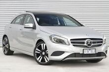 2015 Mercedes-Benz A200 176 MY15 CDI Silver 7 Speed Sports Automatic Dual Clutch Hatchback Ringwood East Maroondah Area Preview