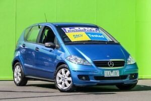 2007 Mercedes-Benz A170 W169 MY08 Classic Blue 7 Speed Constant Variable Hatchback Ringwood East Maroondah Area Preview