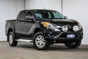 2013 Mazda BT-50 UP0YF1 XTR Black 6 Speed Sports Automatic Utility Welshpool Canning Area Preview