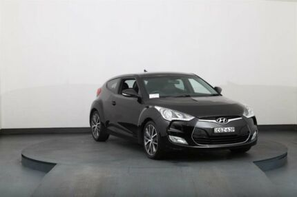 2012 Hyundai Veloster FS Black 6 Speed Manual Coupe
