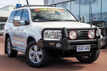 2013 Toyota Landcruiser VDJ200R MY13 Altitude Crystal Pearl 6 Speed Sports Automatic Wagon Wangara Wanneroo Area Preview