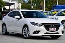2014 Mazda 3 BM5236 SP25 SKYACTIV-MT White 6 Speed Manual Sedan Toowong Brisbane North West Preview