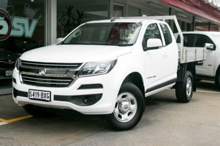 2016 Holden Colorado RG MY17 LS Space Cab White 6 Speed Sports Automatic Cab Chassis Somerton Park Holdfast Bay Preview