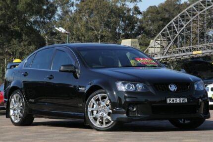 2011 Holden Commodore VE II SS V Redline Black 6 Speed Manual Sedan Warwick Farm Liverpool Area Preview