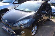 2011 Ford Fiesta WT Zetec Black 5 Speed Manual Hatchback Underwood Logan Area Preview