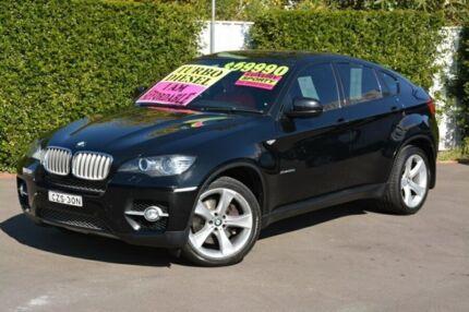 2008 BMW X6 E71 xDrive35d Coupe Steptronic Black 6 Speed Auto Seq Sportshift Wagon New Lambton Newcastle Area Preview