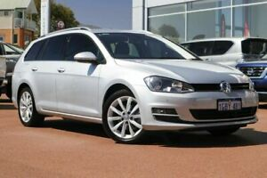 2016 Volkswagen Golf VII MY17 110TDI DSG Highline Silver 6 Speed Sports Automatic Dual Clutch Wagon Clarkson Wanneroo Area Preview