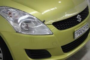 2012 Suzuki Swift FZ GL Citrus 5 Speed Manual Hatchback